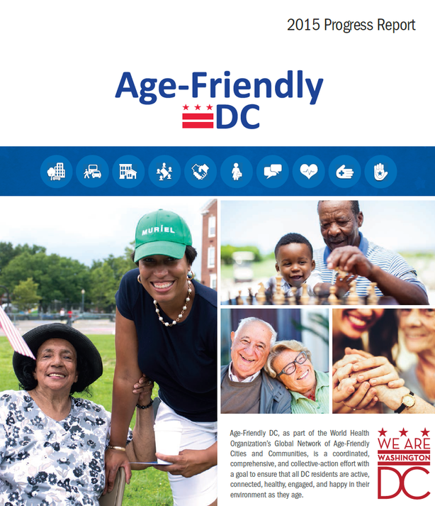 Age-Friendly DC 2015 Progress Report