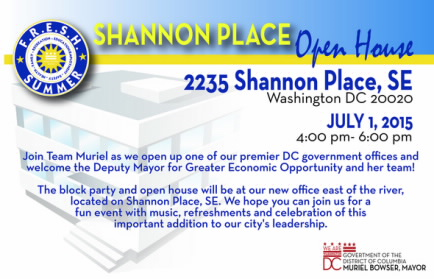 Shannon Place Open House