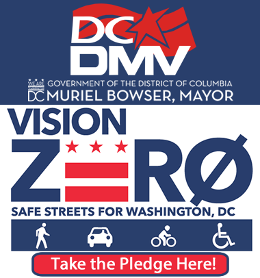 DC DMV Vision Zero Take the Pledge