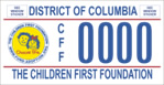 DC DMV Tag Children First Foundation