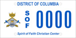 DC DMV Tag Spirit of Faith Christian Center