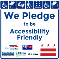 Accessibility Pledge Decal