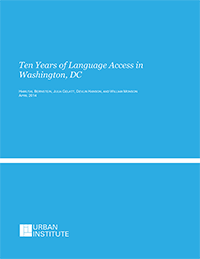 10 Years of Language Access in Washington, DC