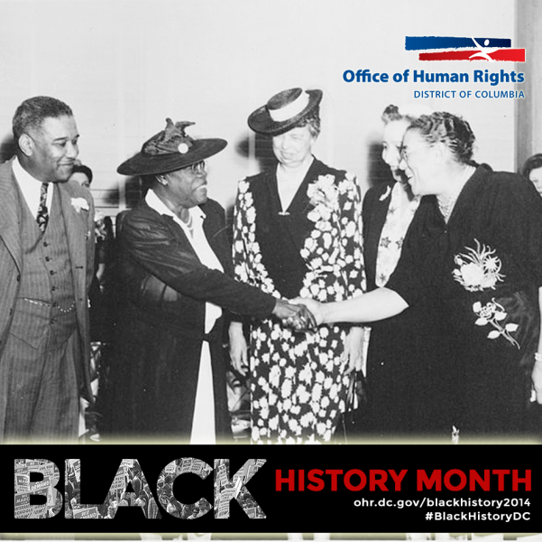 Mary McLeod Bethune with Eleanor Roosevelt