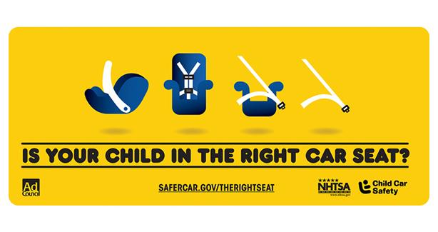 Logo for Child Car Safety Seat event